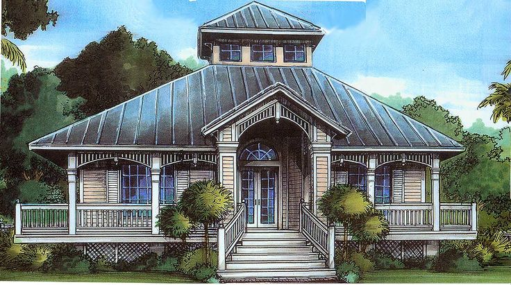 64 best images about florida house on pinterest cottage for Florida cracker house plans wrap around porch