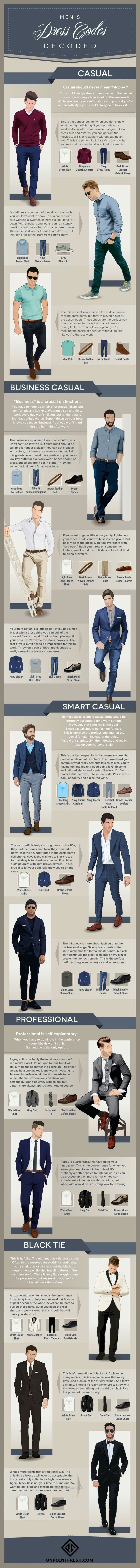 597 best style images on pinterest clothing cool cars and dress mens dress codes decoded infographic tap the link to shop on our official online store you can also join our affiliate andor rewards programs for malvernweather Gallery