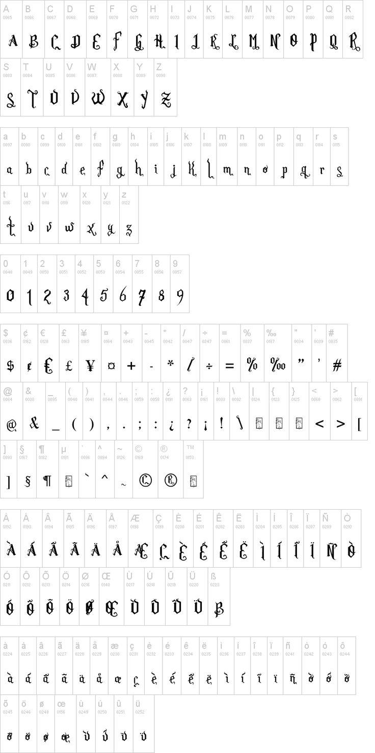 177 Best Images About Fonts On Pinterest Art Elements