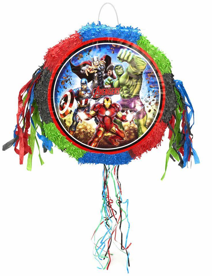 Pinata Avengers ™  et un choix immense de décorations pas chères pour anniversaires, fêtes et occasions spéciales. De la vaisselle jetable à la déco de table, vous trouverez tout pour la fête sur VegaooParty