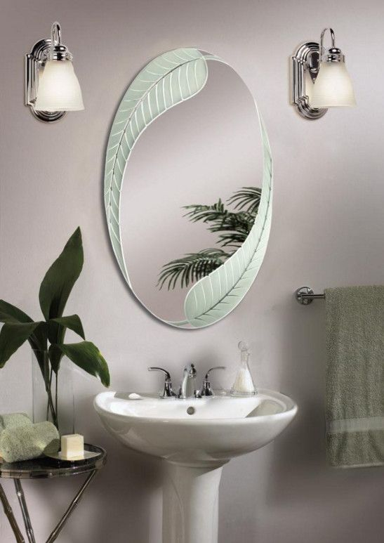 Unique Oval Bathroom Mirrors