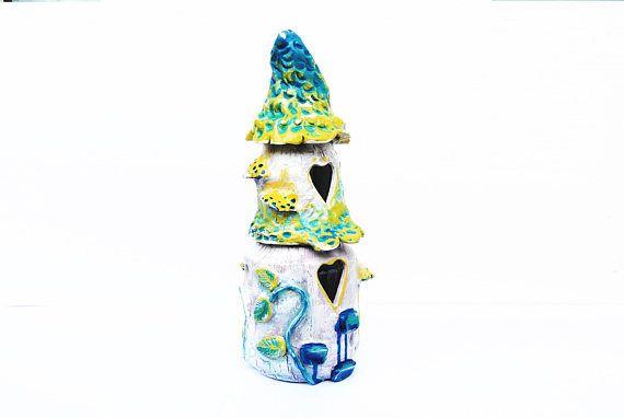 Fairy house jar Kitchen decoration Kitchen container set