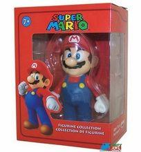 "Super Mario Brothers 5"""" Plastic Toy Action Figure - Mario"