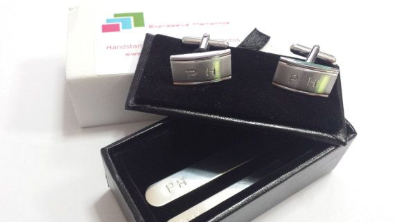 Personalised Cufflinks and Collar stays