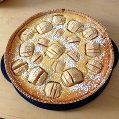 Rezept Apfelkuchen mit Quark-Joghurt-Guss von Monce - Rezept der Kategorie Backen süß