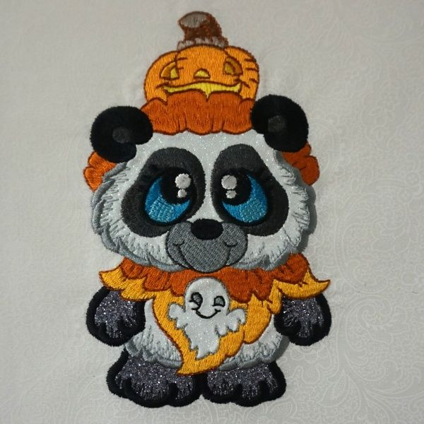 "No tricks just treats with these 10 ""Spooky Buddies"" by Sew Inspired by Bonnie--Machine Applique Designs for 5x7 hoops."