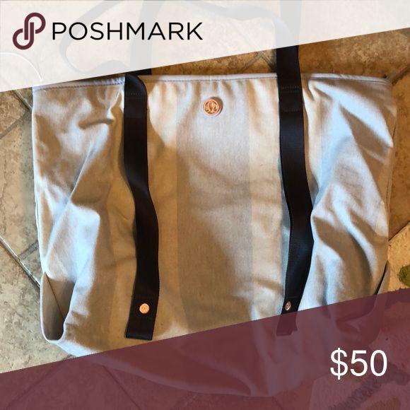 Lululemon bag Stripe lululemon bag lululemon athletica Bags Shoulder Bags