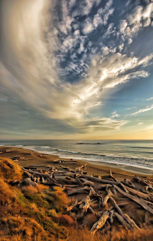Moonstone Beach California by Rob Bishop©, via 500px