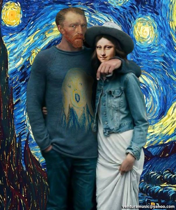 If Art History Icons Were Hipsters – #Art #Hipster…