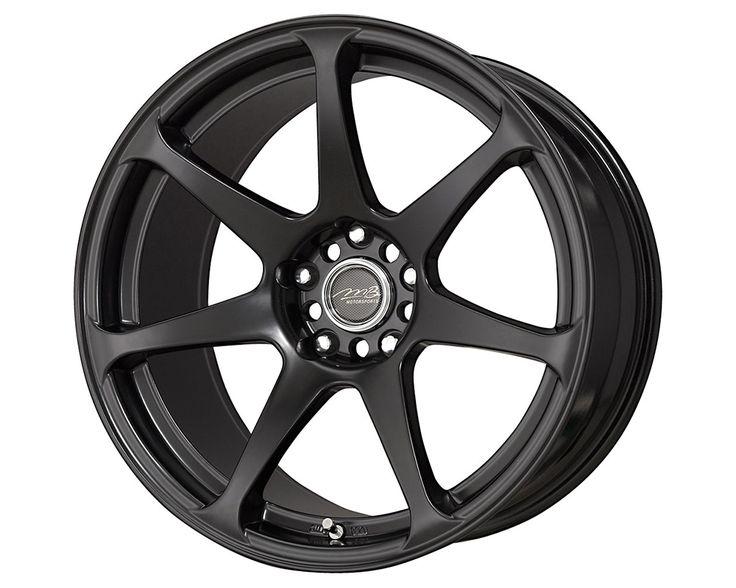 MB Wheels Battle Wheels 17X9.5 Matte Black