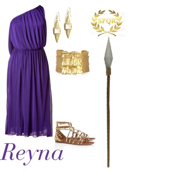 """Reyna (Heroes of Olympus Series)"" Seriously, this is probably EXACTLY what Reyna wears."