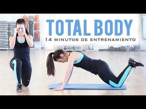 TOTAL BODY: TONIFICA TU CUERPO | Ideal para principiantes 14 minutos