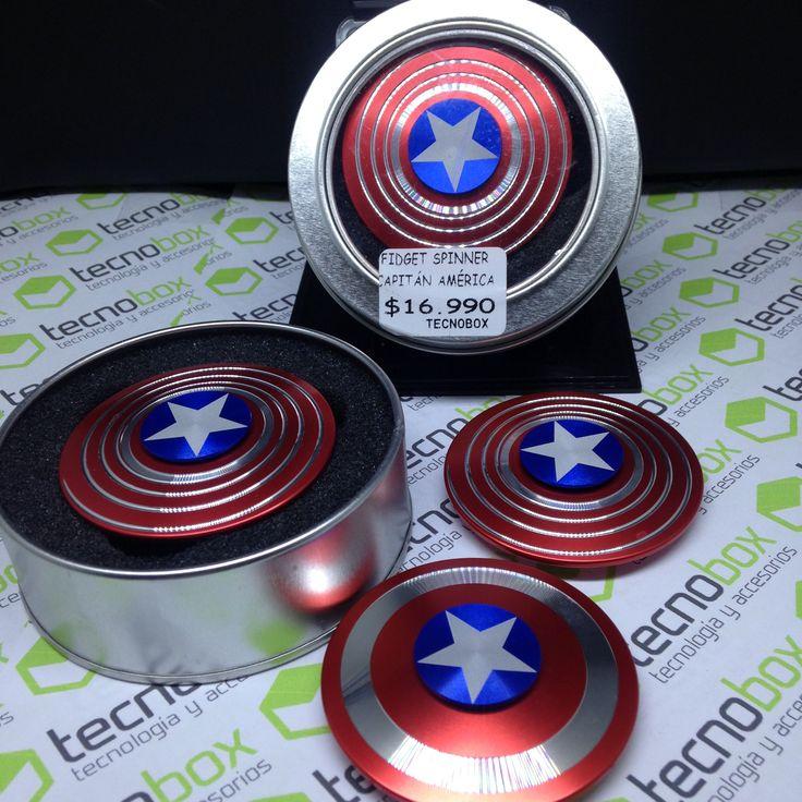 Fidget Spinner Capitan America