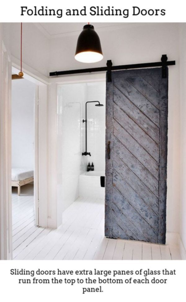 Sliding Doors Have Beautiful Radiant Room Designs Via Thermally Insulated Sliding And Collapsible Door Minimalism Interior Old Barn Doors Interior Barn Doors