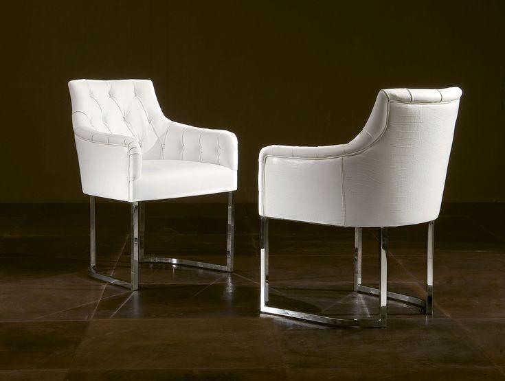 Mer Enn 25 Bra Ideer Om White Leather Dining Chairs På Pinterest Adorable White Leather Dining Room Chairs Sale Decorating Design