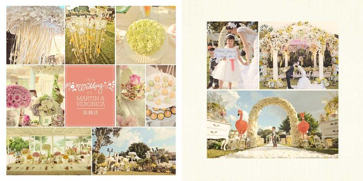 Martin & Veronica Wedding Day Album Design, photo by HOP, edit & design by Wenny Lee