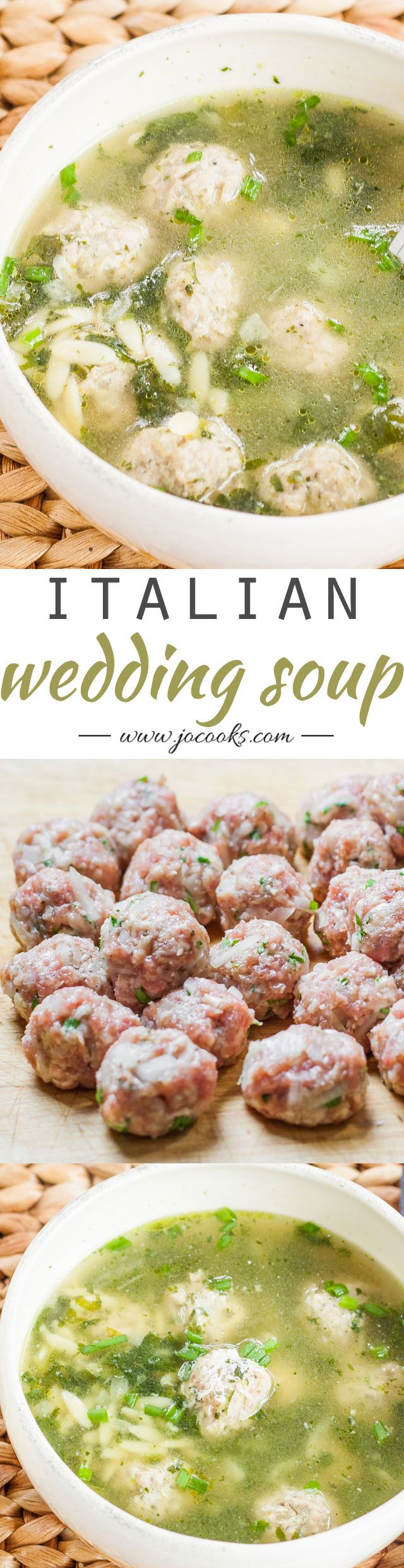 Italian Wedding Soup. This is the closest recipe to my Aunt Rose's. Wish she was still here to teach me hers.