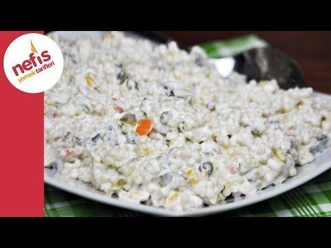 Garnitürlü Kuskus Salatası Tarifi - Nefis Yemek Tarifleri