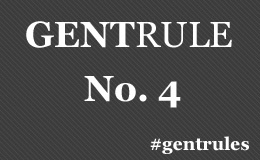 A gentleman never talks with his mouth full. #gentrules