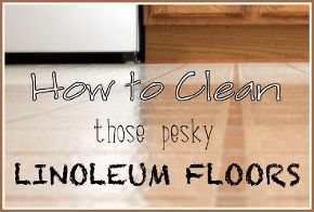 1000 ideas about clean linoleum floors on pinterest cleaning remove paint from carpet and. Black Bedroom Furniture Sets. Home Design Ideas