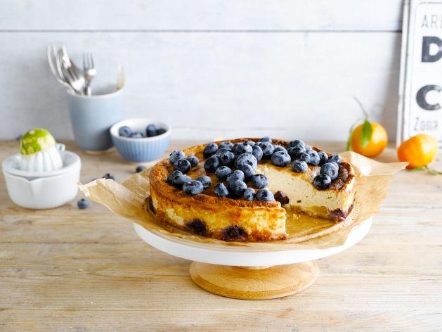 Een fruitige taart met Alpro Go On Natuur (zonder koemelk)
