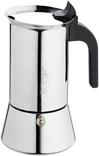 Special Offers - Bialetti Elegance Venus Induction 6 Cup Stainless Steel Espresso Maker - In stock & Free Shipping. You can save more money! Check It (April 06 2016 at 10:01PM) >> http://standmixerusa.net/bialetti-elegance-venus-induction-6-cup-stainless-steel-espresso-maker/