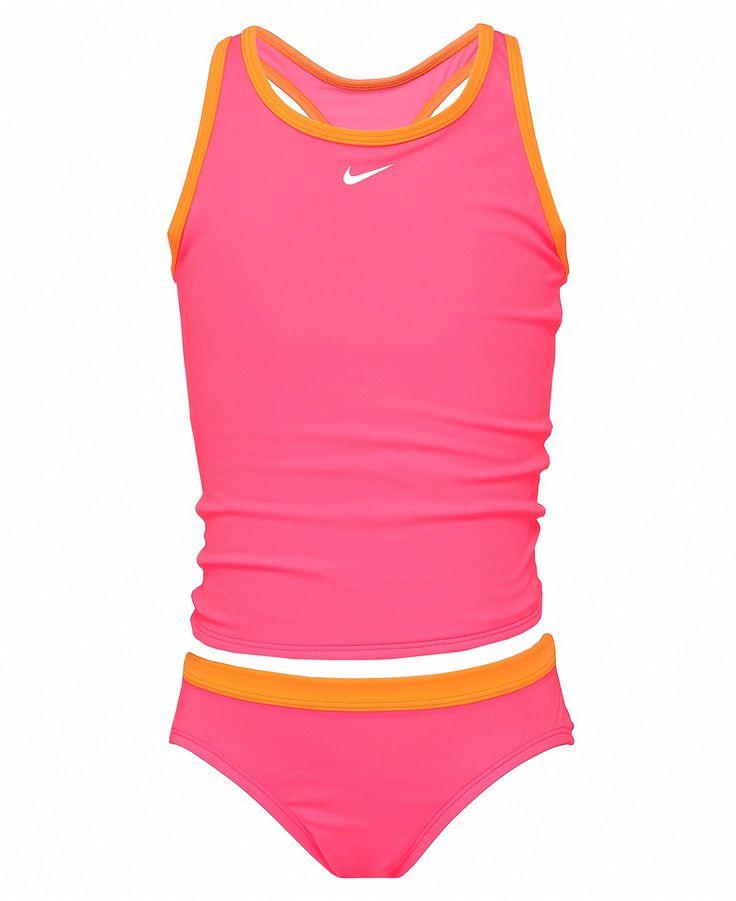 Nike Kids Swimsuit, Girls Two-Piece Tankini - Kids Girls 7-16 - Macy's