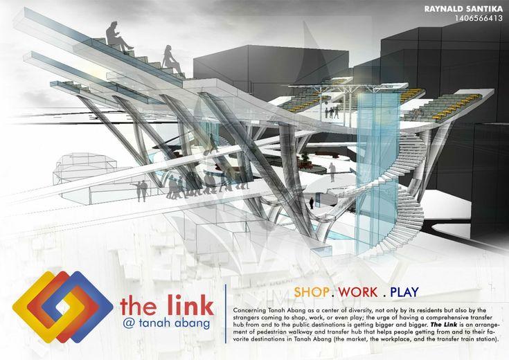 THE LINK @ TANAH ABANG 1/4_Raynald Santika_Arsitektur 2014