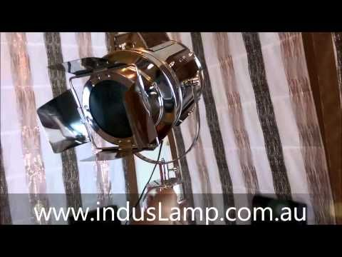 Lixue  - Cinema Spotlight Tripod Floor Lamp Home Decor