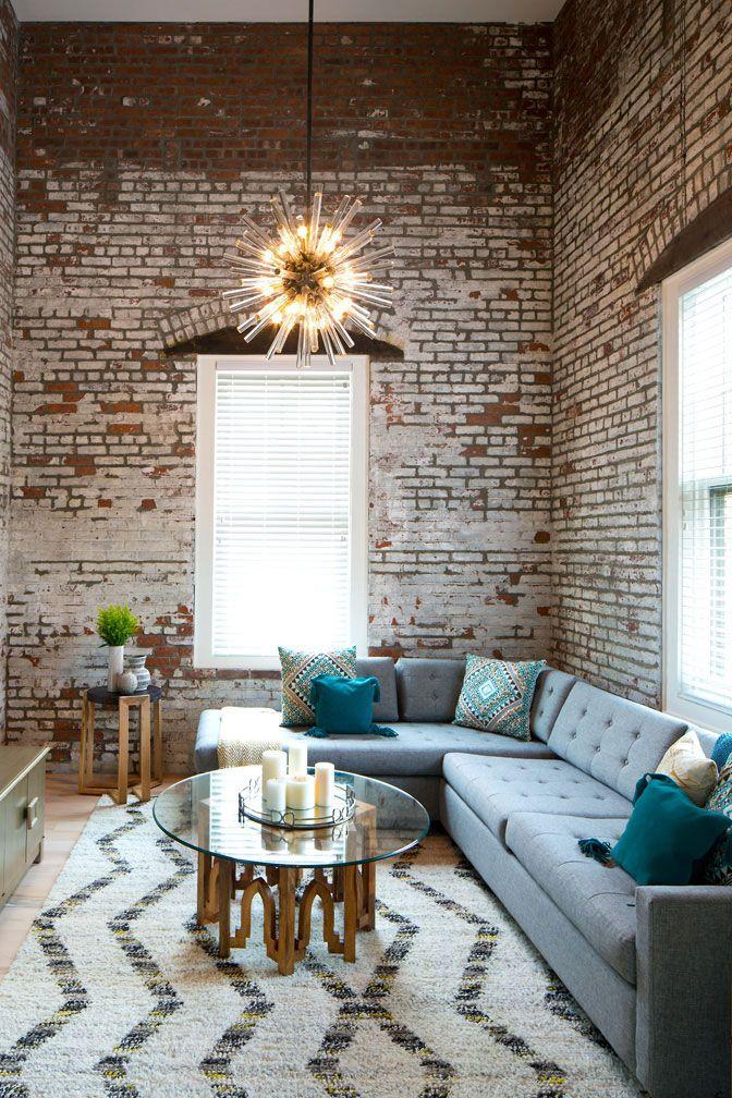 Chestnyj Industrialnyj Dizajn Loft V Byvshem Zavodskom Zdanii V Ssha Foto Idei Dizajn Loft Style Interior Urban Loft Decor Apartment Decorating Livingroom