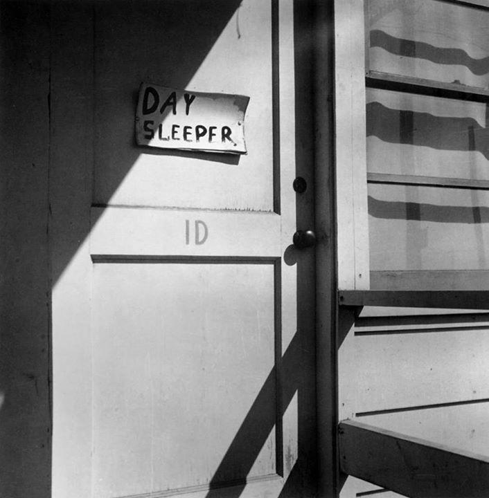 Dorothea Lange - Day Sleeper, 1D Richmond California, ca 1942-1944