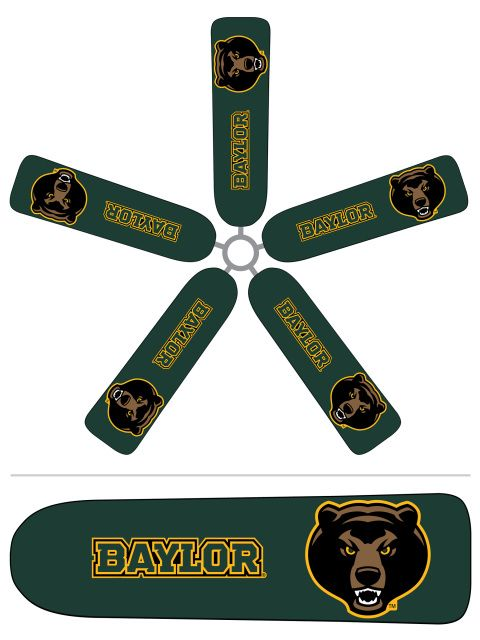 42 Best Images About Collegiate Ceiling Fan Blade Covers