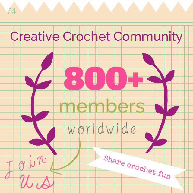 Share #crochet fun! :-) www.facebook.com/groups/CreativeCrochetCommunity