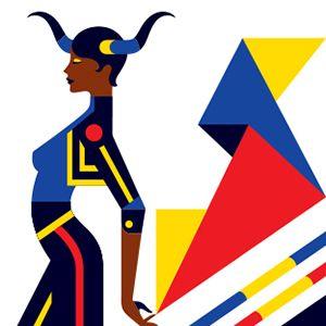 Fashion zodiac signs, so fabulous! Made by Malika Favre, who's a french…