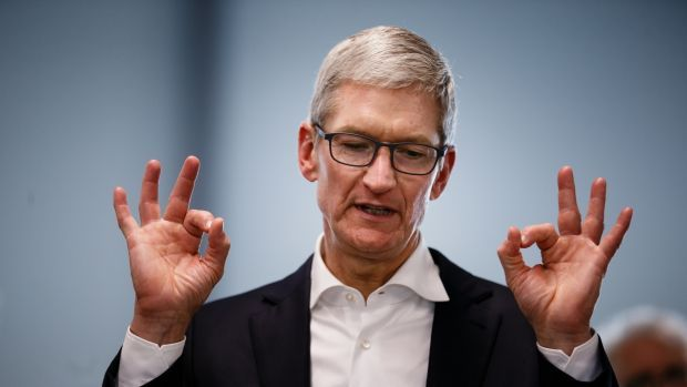 Apple's Tim Cook dumps $54m worth of shares just weeks before new iPhone launch