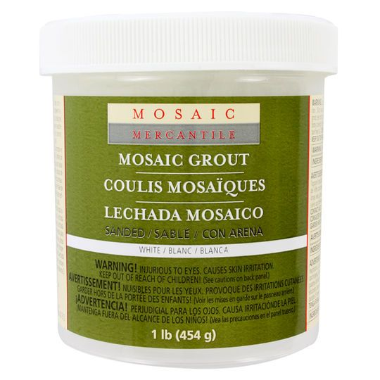 Mosaic Mercantile Sanded Grout, Snow