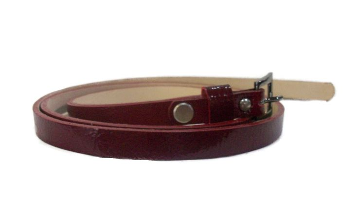 LEATHER WOMEN'S BELT. 100% LEATHER.