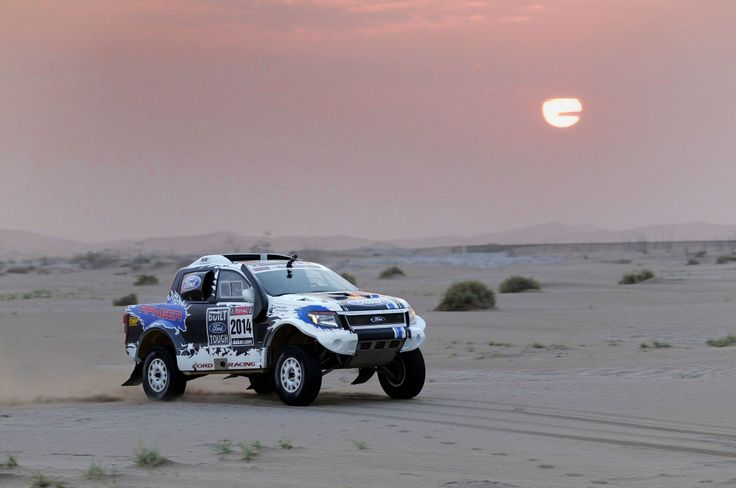 Photography - Ford Racing preparation for Dakar Rally 2014, Namibia
