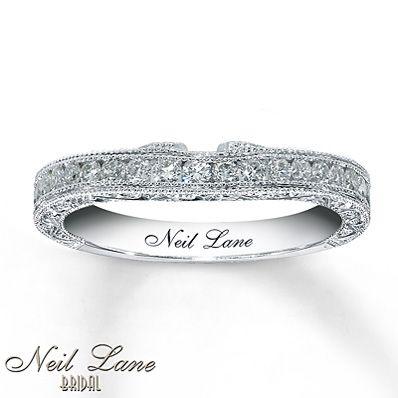 Neil Lane Bridal 1/2 ct tw Diamond Band 14K White Gold