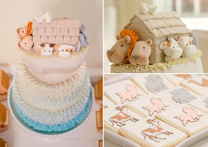 Noah's Ark Themed Birthday Party from Layla Grayce                                                                                                                                                                                 More