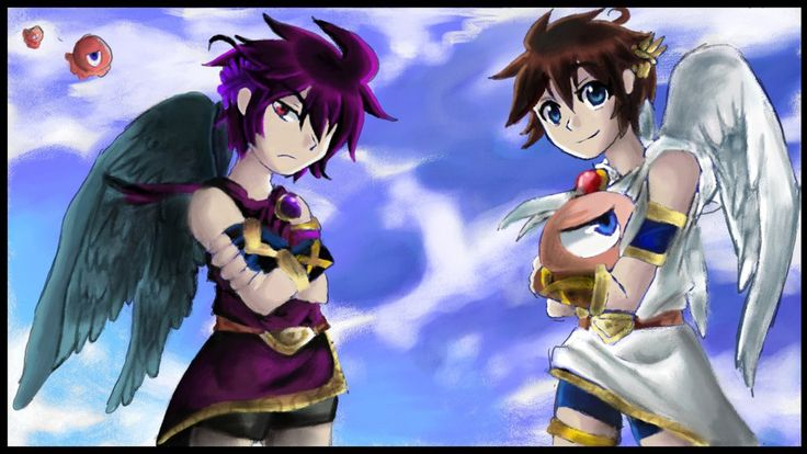 17 Best Images About Kid Icarus On Pinterest