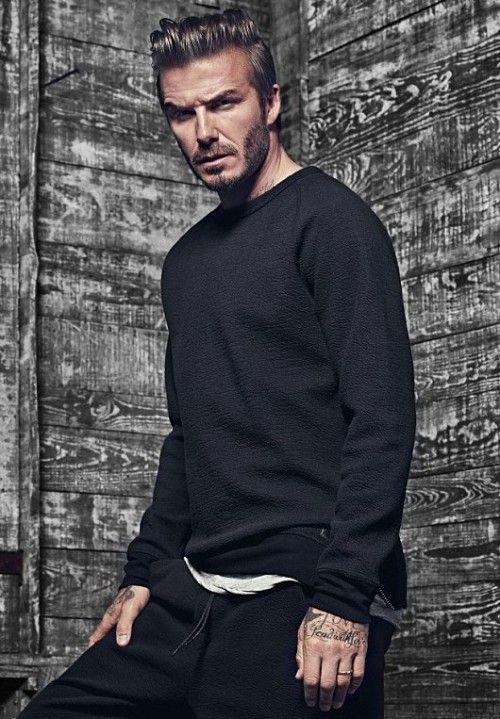 Yay or Nay ? David Beckham's black sweater
