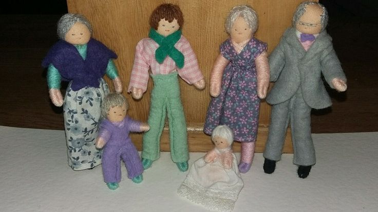 VINTAGE DOLLS HOUS HALFPENNY DOLLS FAMILY SUIT LUNDBY BARTON FURNITURE DOLL | eBay
