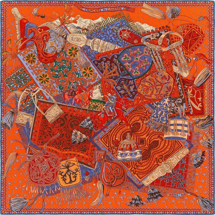 Ber ideen zu hermes schals auf pinterest hermes - Hermes schal herren ...