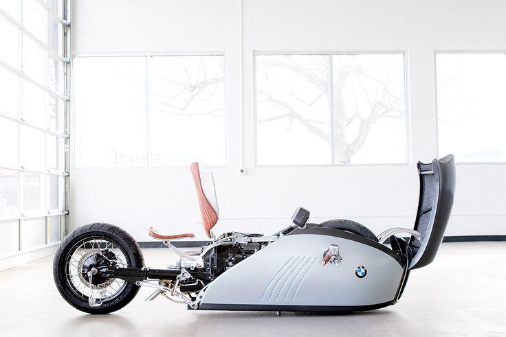 The incredible BMW 'Alpha' by builder Mark Atkinson and industrial designer Mehmet Doruk Erdem.