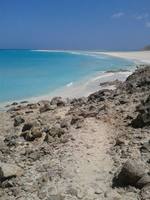 favorite beach in Socotra. And maybe the world.