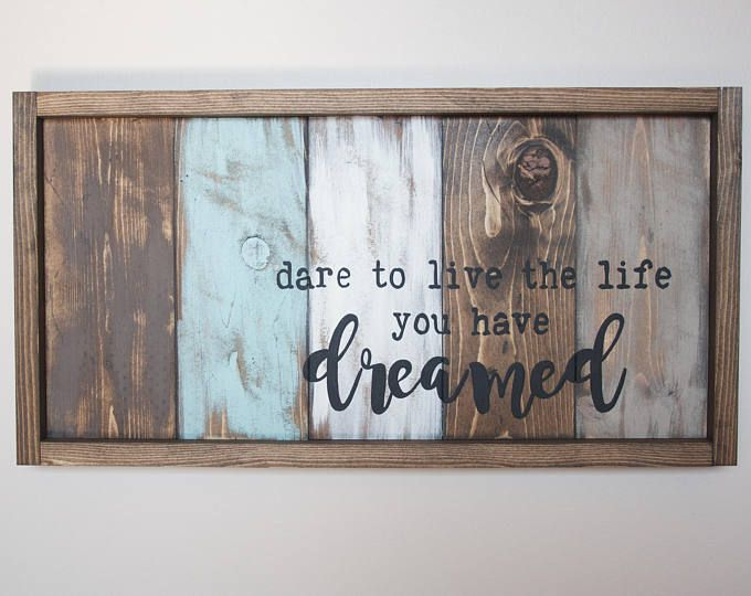Wooden Wall Decor Signs