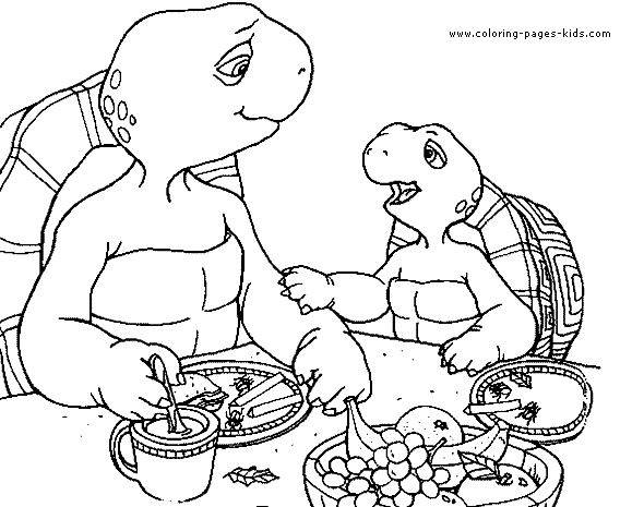 Franklin The Turtle Coloring Pages Google Search Franklin Coloring Pages