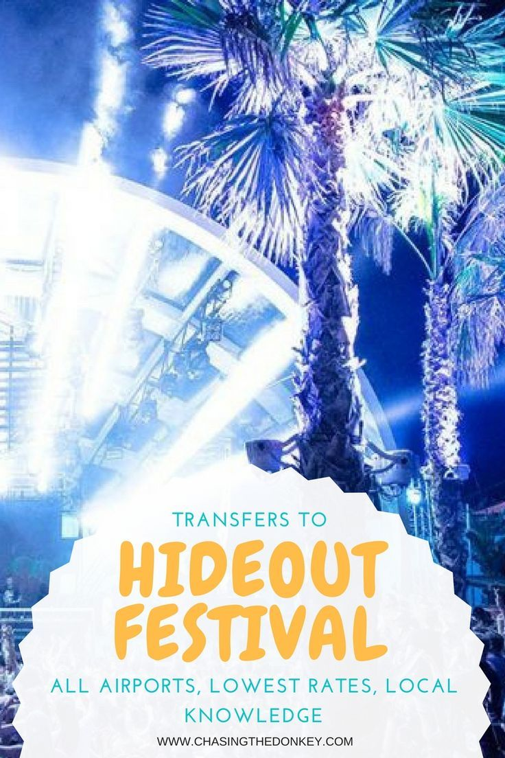 The Hideout Festival 2017 will soon be upon us and with the exponential growth of international festival goers, Croatia's clubbing capital Zrce Beach in Novalja will be the place to be from Monday the 26th of June through to Friday the 30th June. Book your transfer here.