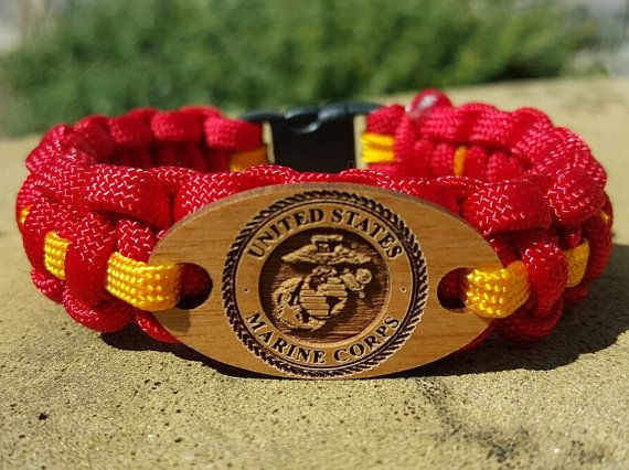 United States Marine Corp USMC Paracord by CassSurvivalParacord